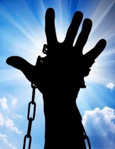 Slavery chains