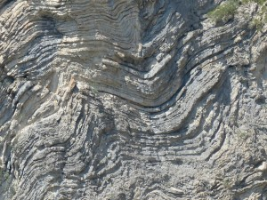 Folded Rock layers